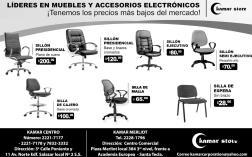 Variedad en silla para oficina o negocios KAMAR STORE - 24sep14