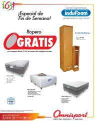 ofertas OMNISPORT especial de camas y muebles - 26sep14