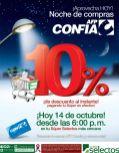 AFP confia te invita a la noche de compras en SUPER SELECTOS - 14oct14