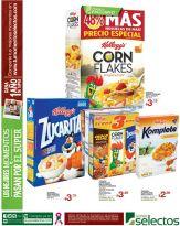 BONUS cereal kelloggs super selectos producto exclusivo - 31oct14