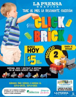 Baby magazine collection CLICK and Brick