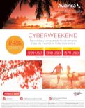 CYBER WEEKEND sale avianca traveling - 03oct14