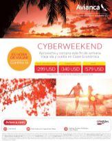 CYBER WEEKEND sale avianca traveling - 03oct14