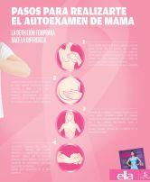 Como realizarme un auto examen de mama