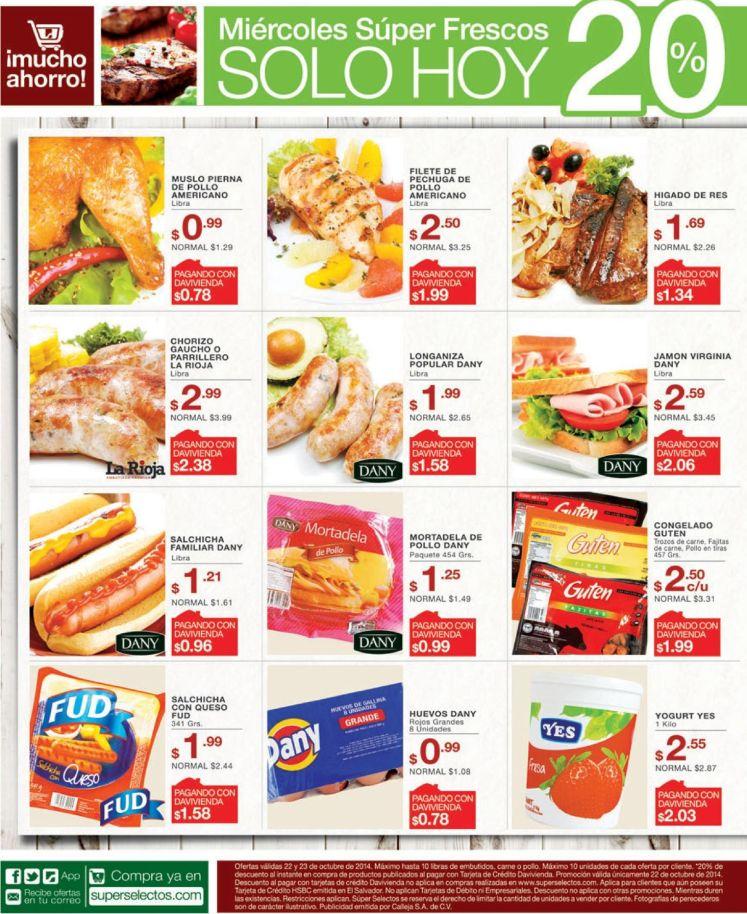 Descuentos llenos de frescura en el supermercado - 22oct14