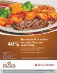 Disfruta un carne en familia con descuento - 07oct14