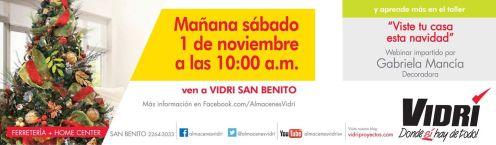 Eventos VIDRI san benito webinar about decarating - 31oct14