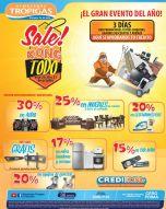 GRAN venta almacenes tropigas SALE KONG TODO - 29oct14