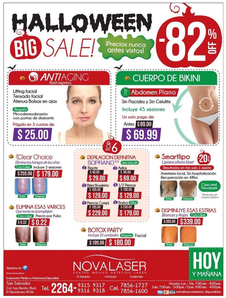 HALLOWEEN BIG SALE precios bajos en tratamientos de belleza - 28oct14HALLOWEEN BIG SALE precios bajos en tratamientos de belleza - 28oct14