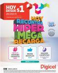 HYPER MERGA recarga DIGICEL - 21oct14