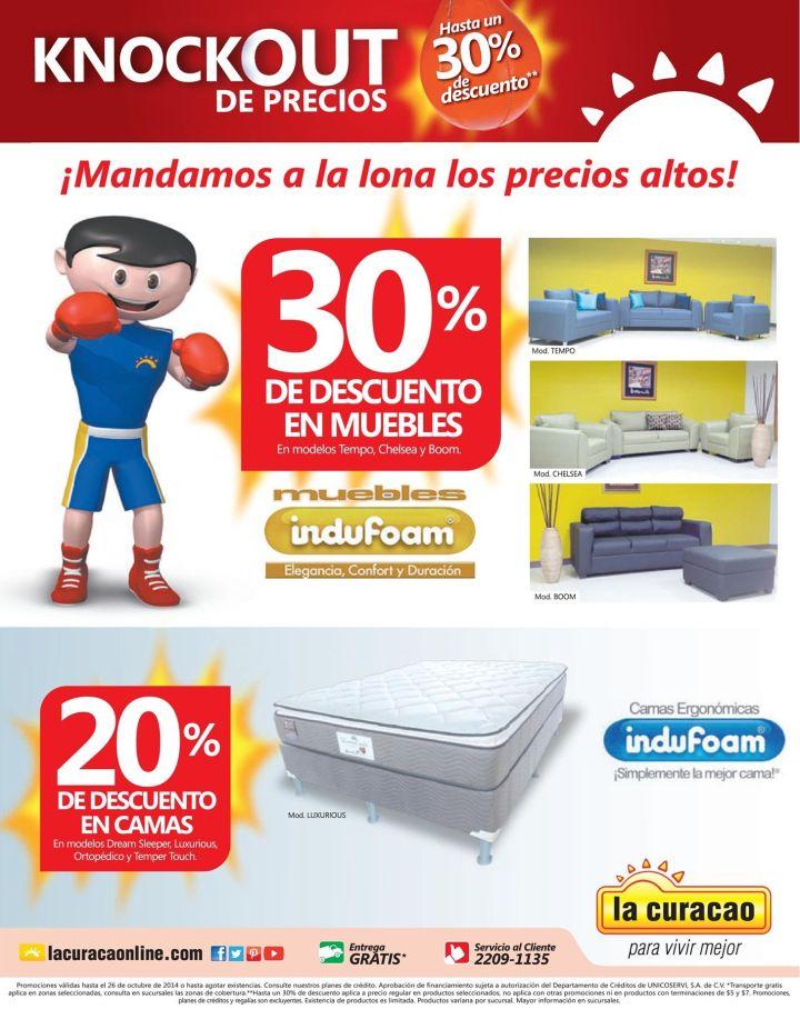 KNOCKOUT de precios bajos en LA CURACAO - 25oct14