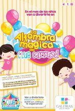 La alfombra magica del club carrusel en GALERIAS escalon