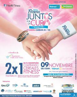 Lucha contra el cancer NESTLE FITNESS juntos por la cura del cancer