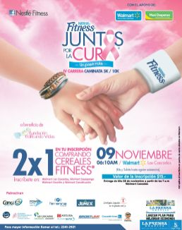 Lucha contra el cancer NESTLE FITNESS juntos por la cura del cancer