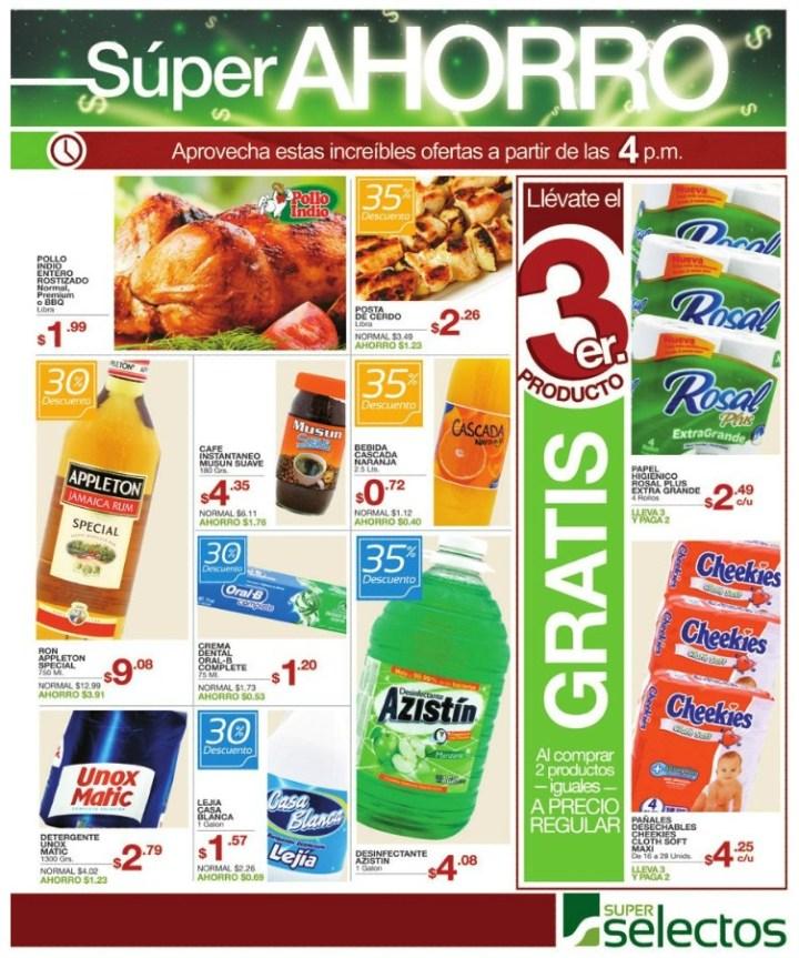 Muchas ofertas super selectos noche del super ahorro - 30oct14