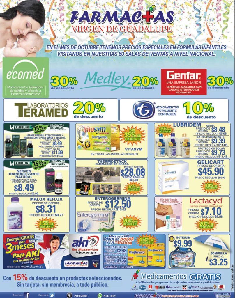 Ofertas en medicamentos para toda la familia - 15oct14