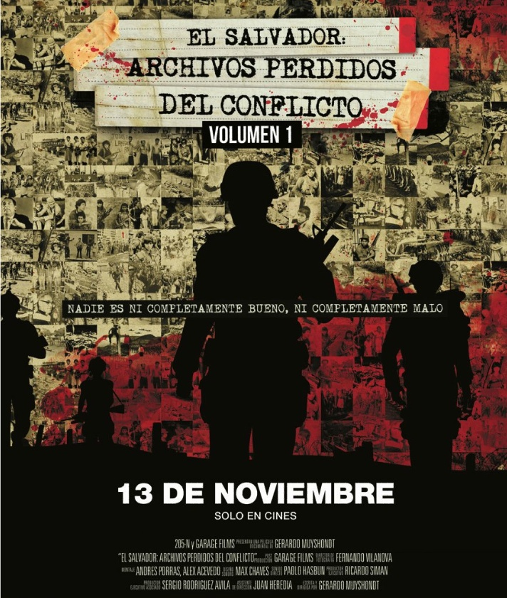 PREMIER el salvador Archivos Perdidos del conflicto the movie