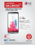 Plan pospago SIN LIMMITES de CLARO promociones LG G3