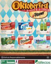 Primer fin de semana OKBERFEST promociones super selectos - 04oct14