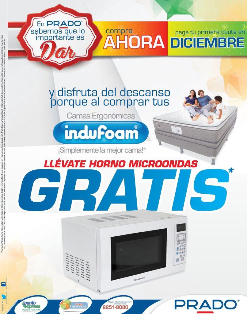 Promociones PRADO ofertas en tus compras horno GRATIS - 31oct14