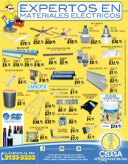 Promociones ferreteria CELASA iluminacion electrica - 06oct14