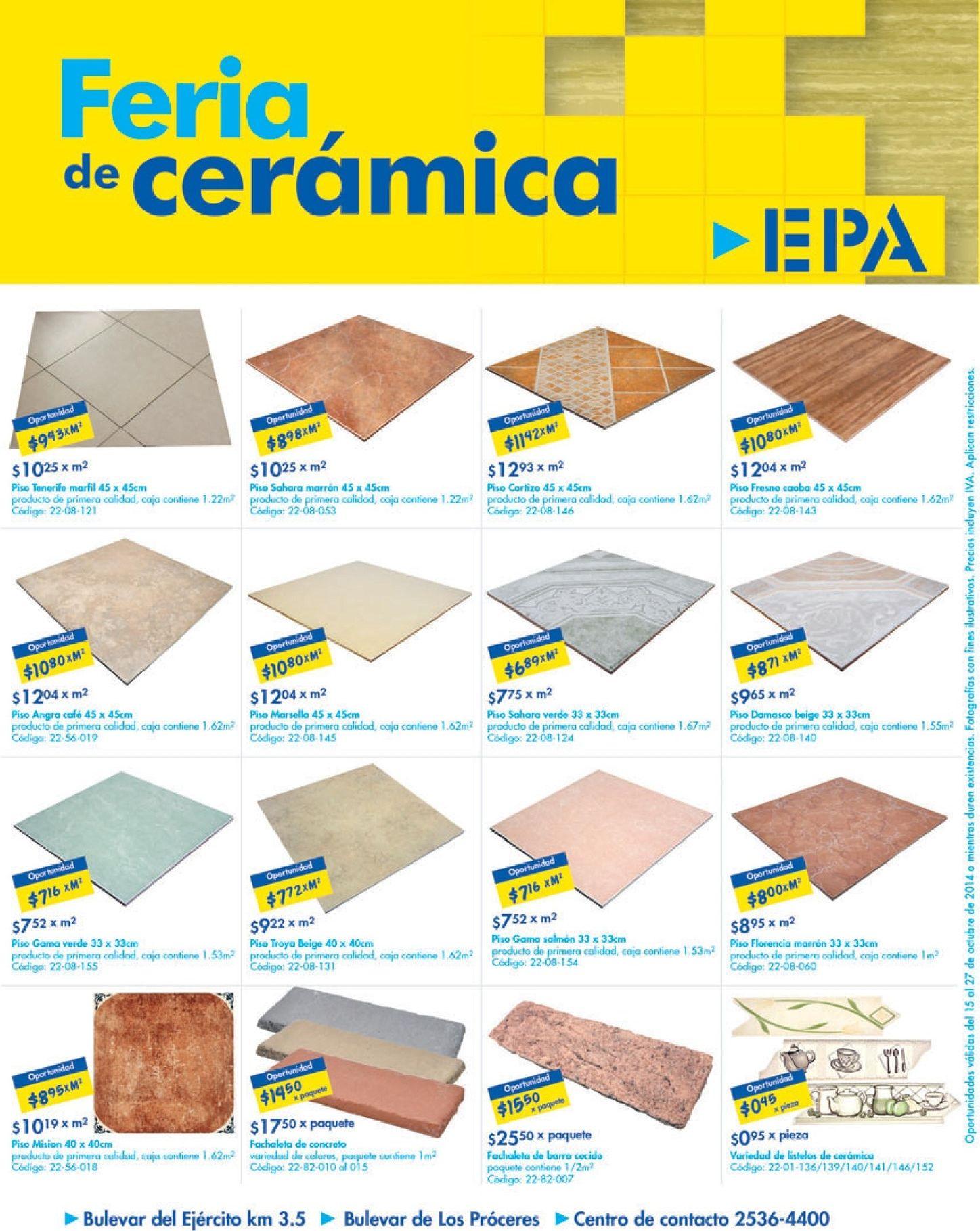 remodelacion de tus pisos feria de ceramica ofertas epa el