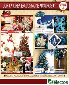 SUPER SELECTOS Llego la navidad articulos y accesorios - 11oct14