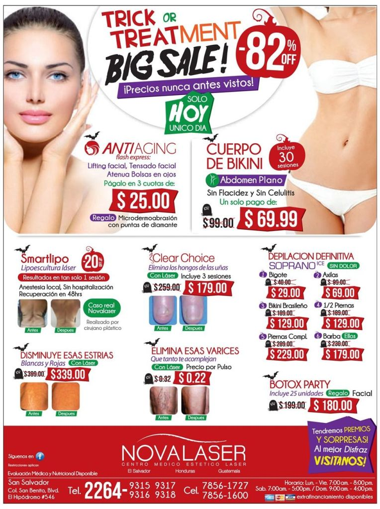 TRICK or Treatment BIG SALE halloween promotion - 31oct14