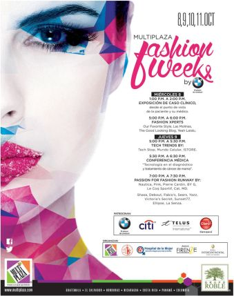 Today begin MULTIPLAZA fashion week event - 08oct14