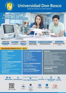 Universidad Don Bosco profesional carreras tecnicas acreditaciones internacionales
