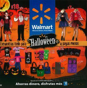 WALMART ofertas de HALLOWEEN 2014