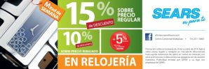 WATCH discounts alamacenes sears - 29oct14