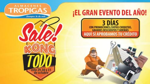 amazing SALE tropigas el salvador - 29oct14
