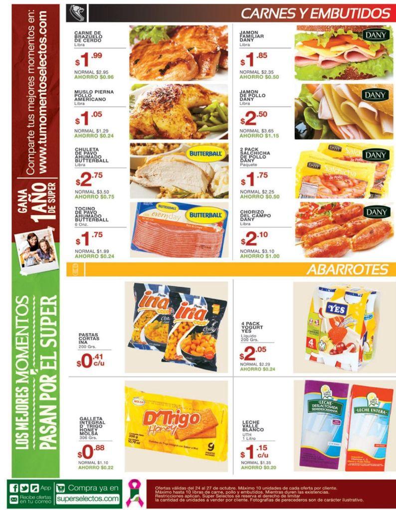 carnes embutidos de calidad con oferta - 24oct14