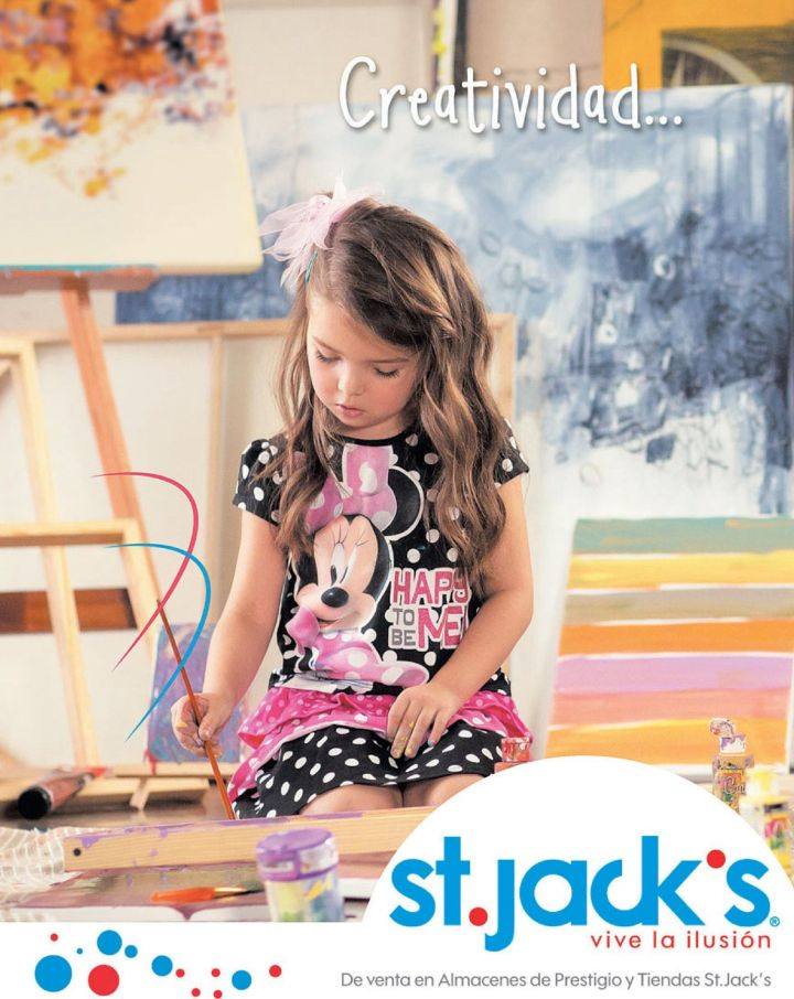 children creatiidad y belleza DISNEY apparel st jacks promociones
