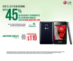 discount SMARTPHONE compacto LG optimus L3 - 23oct14