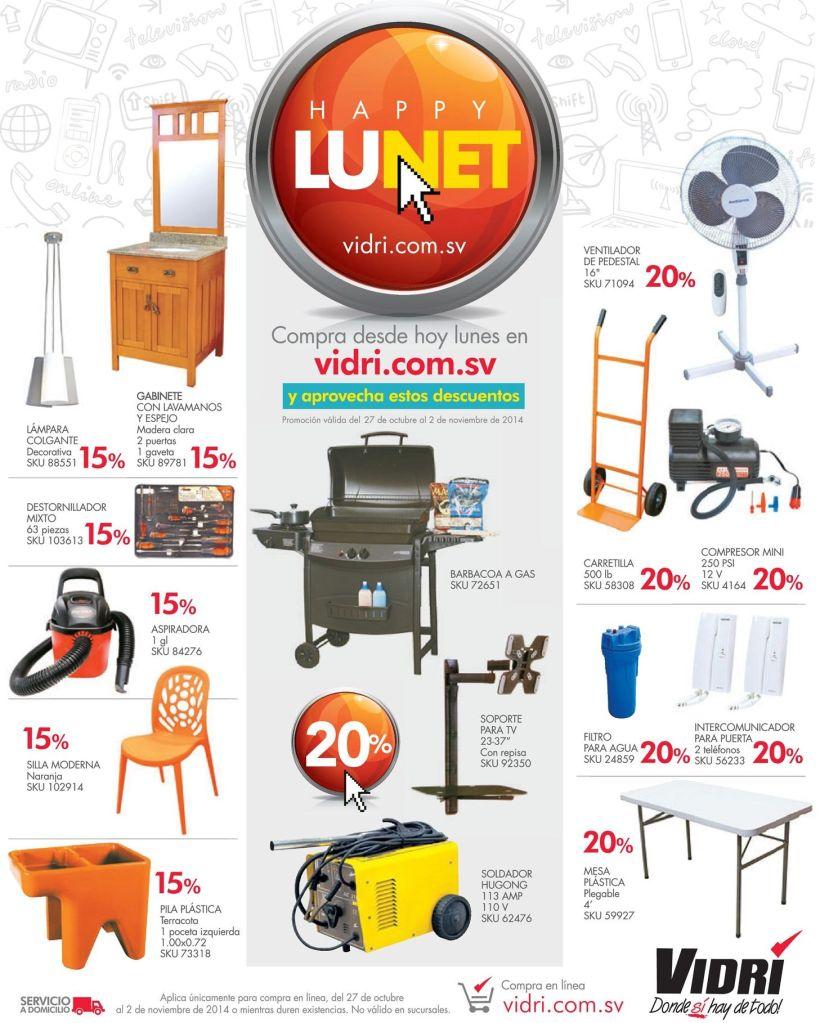 ferreteria VIDRI online shopping HAPPY LUNET - 27oct14