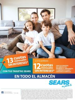 las familias aprovechas las promociones en SEARS - 04oct14