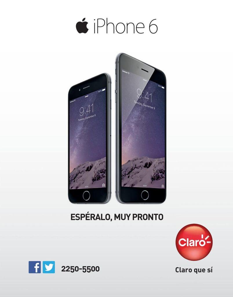 muy pronto en el salvador iPhone 6 by CLARO
