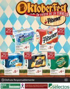 super selectos Cervezas con descuento OKTOBERFEST - 11oct14