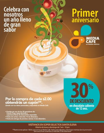 30 OFF en chocolate caliente media cafe - 24nov14