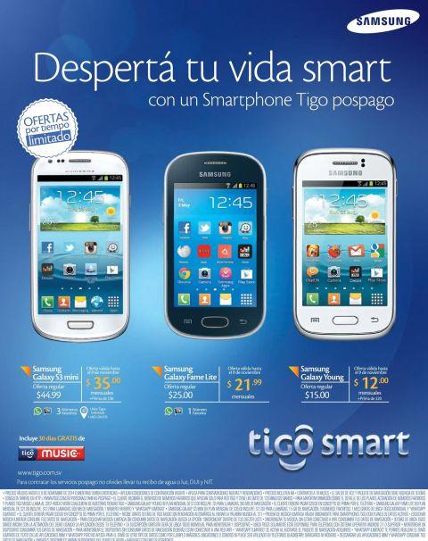 Cambia ya tu celular antiguo con TIGO smart - 06nov14