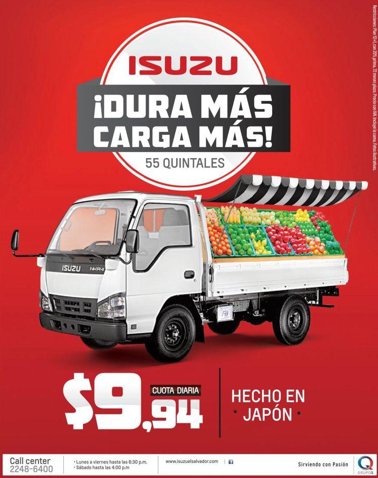 Camion de carga ISUZU - 11nov14
