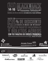 Compra paquetes de vacaciones BLACK con banco promerica - 14nov14