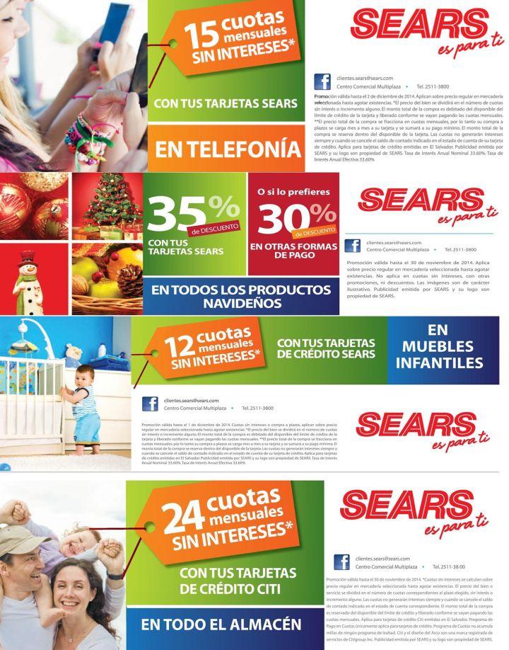 Compras de fin de semana en SEARS - 22nov14