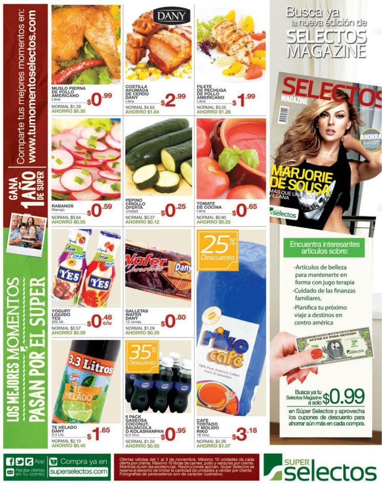 Cupones en tu selectos magazine - 01nov14