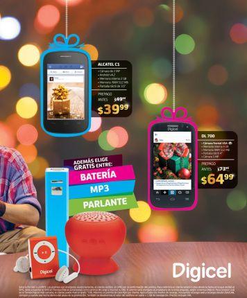 DIGICEL Promociones en smartphone alcatel - 03nov14