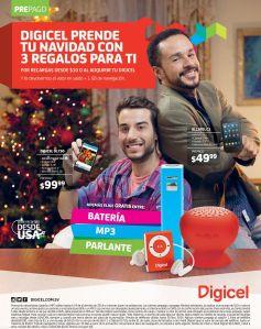 DIGICEL promocion regalos de navidad 2014