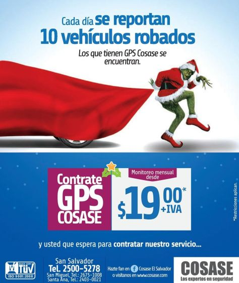 Encuentra tu auto robado con GPS services - 10nov14