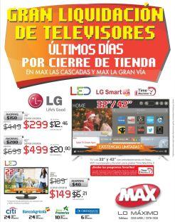 GRAN LIQUIDACION tiendas max cierre definitivo - 08nov14